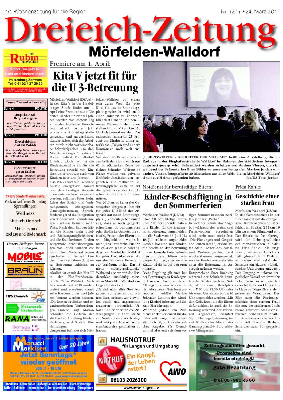 DZH 24 03 2011 by Dreieich ZeitungOffenbach Journal issuu