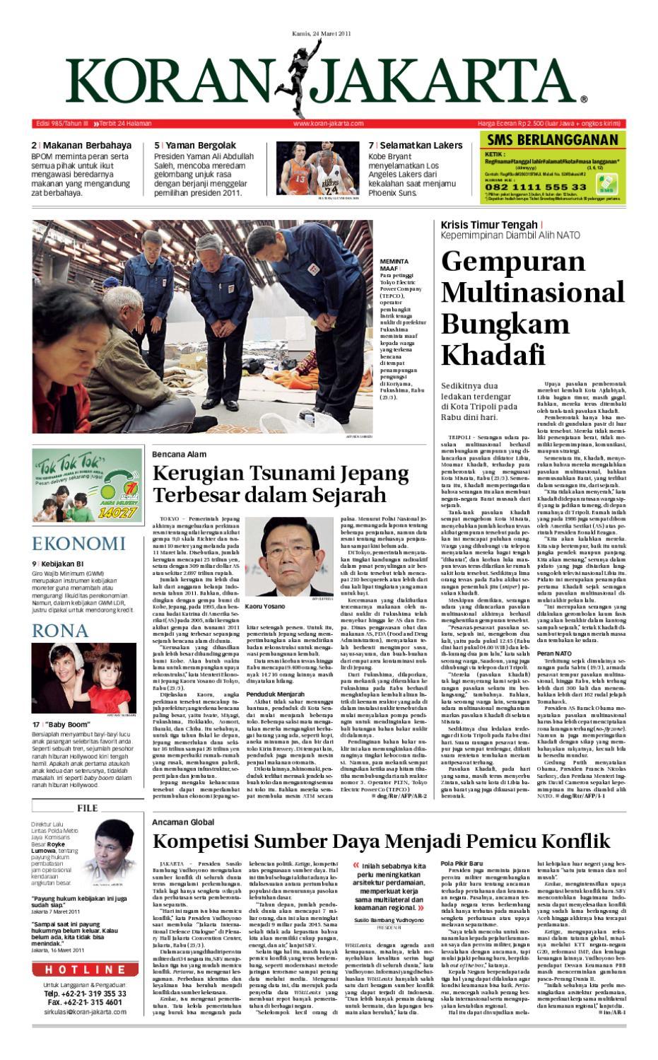 Edisi 985 24 Maret 2011 By Pt Berita Nusantara Issuu Produk Ukm Bumn Bale Sehat Teh Rosella Merah 3 Box