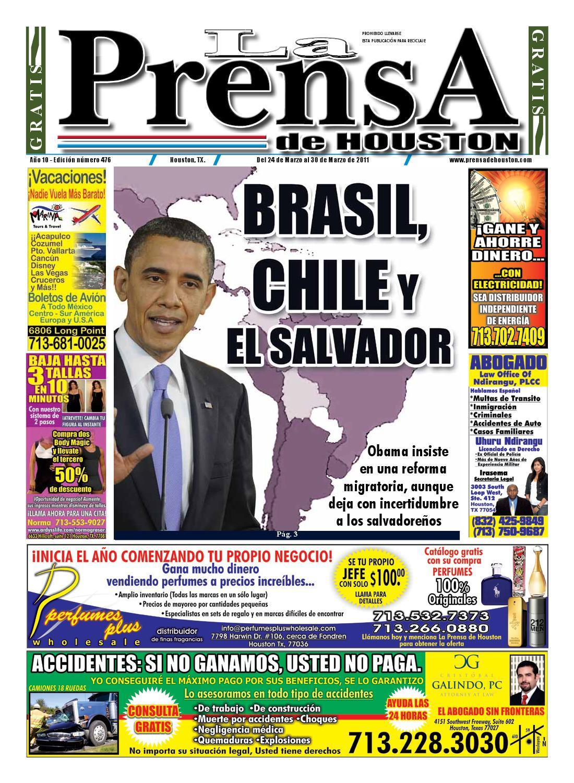 LA PRENSA DE HOUSTON 476 by La Prensa de Houston - issuu