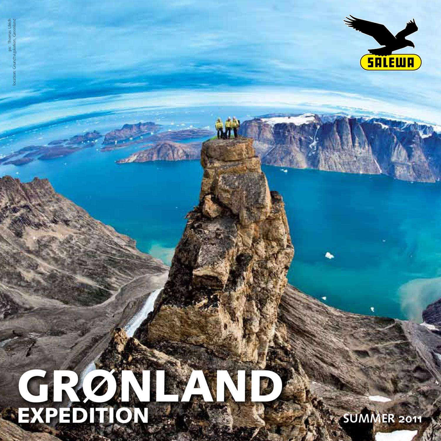 GRONLAND EXPEDITION SALEWA Summer 2011 EN by