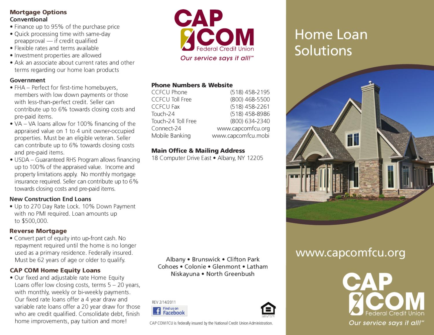 Home Loan Solutions by CAP COM Federal Credit Union - issuu