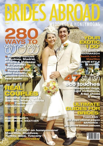 Brides Abroad Issue 4 by World Titles - issuu 65c557717