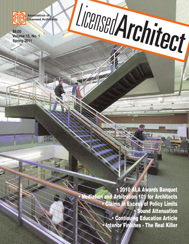 Licensed Architect Spring 2011 by Lisa Brooks issuu