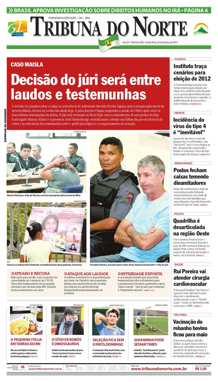 Tribuna do Norte - 25 03 2011 by Empresa Jornalística Tribuna do Norte Ltda  - issuu b39a082446