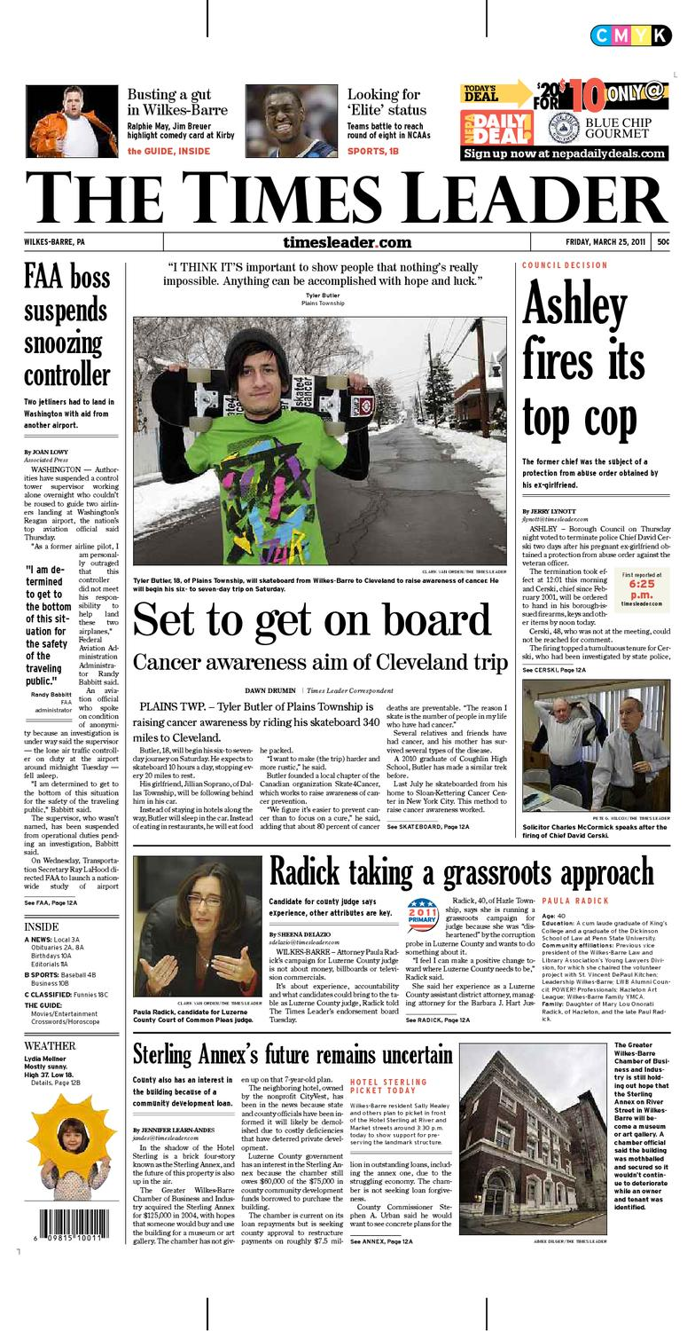 Wilkes-Barre Times Leader 3-25 by The Wilkes-Barre Publishing Company -  issuu a90b1bc2595e