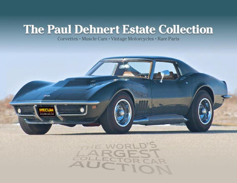 Verde classics catalog by mecum auctions issuu paul dehnert collection at indy classic sciox Choice Image
