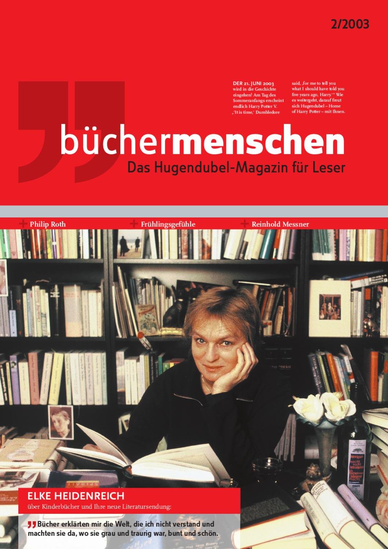 büchermenschen_2/2003 by in medias res Marktkommunikation GmbH - issuu