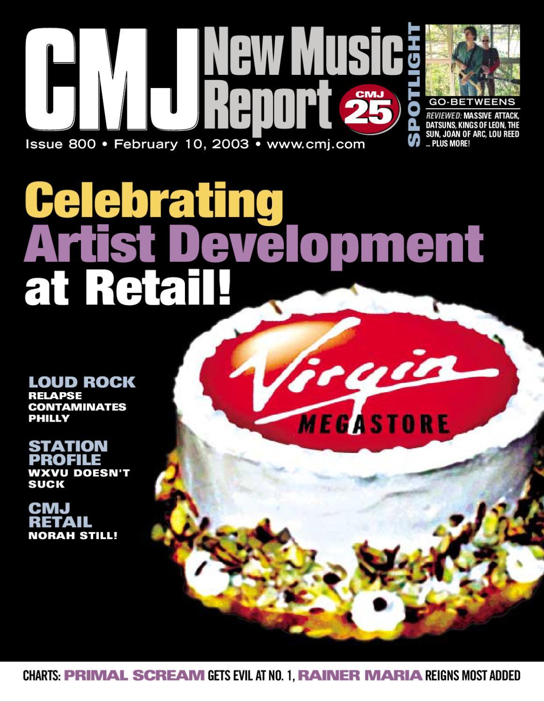 CMJ New Music Report  NMR 800 by CMJ Network - issuu e5756d415b