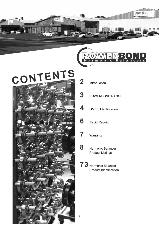 Powerbond Harmonic Balancer Catalogue by rav media - issuu