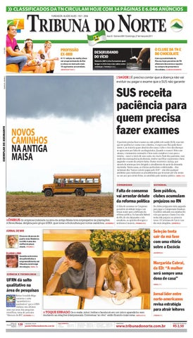 11c343e59dace Tribuna do Norte - 27 03 2011 by Empresa Jornalística Tribuna do ...