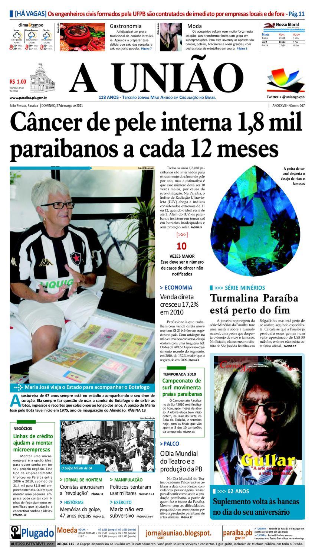 5d58b1103af Jornal A UNIÃO by Jornal A União - issuu
