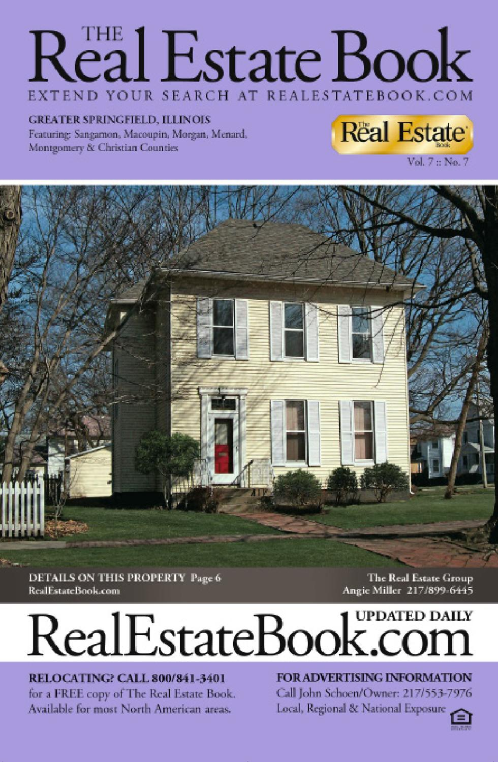 the real estate book of springfield il by dflydesigns issuu. Black Bedroom Furniture Sets. Home Design Ideas