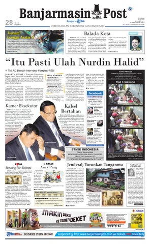 Banjarmasin Post Edisi Senin 28 Maret 2011 4e06cb0360
