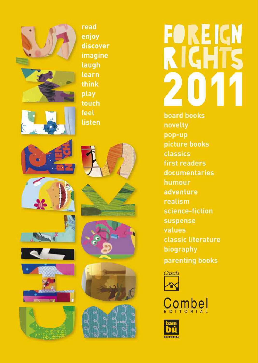 edec65dc128 Foreign Rights 2011 by Editorial Casals - issuu
