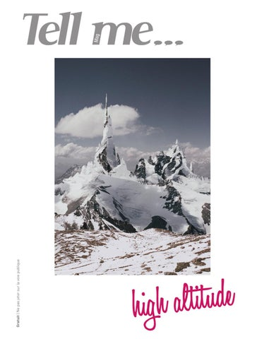 High altitude by Tell me Mag by Tell Me-Mag - issuu bfee307c725d