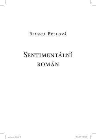 Sentimentalni roman by IFP PUBLISHING - issuu eb0e23597a