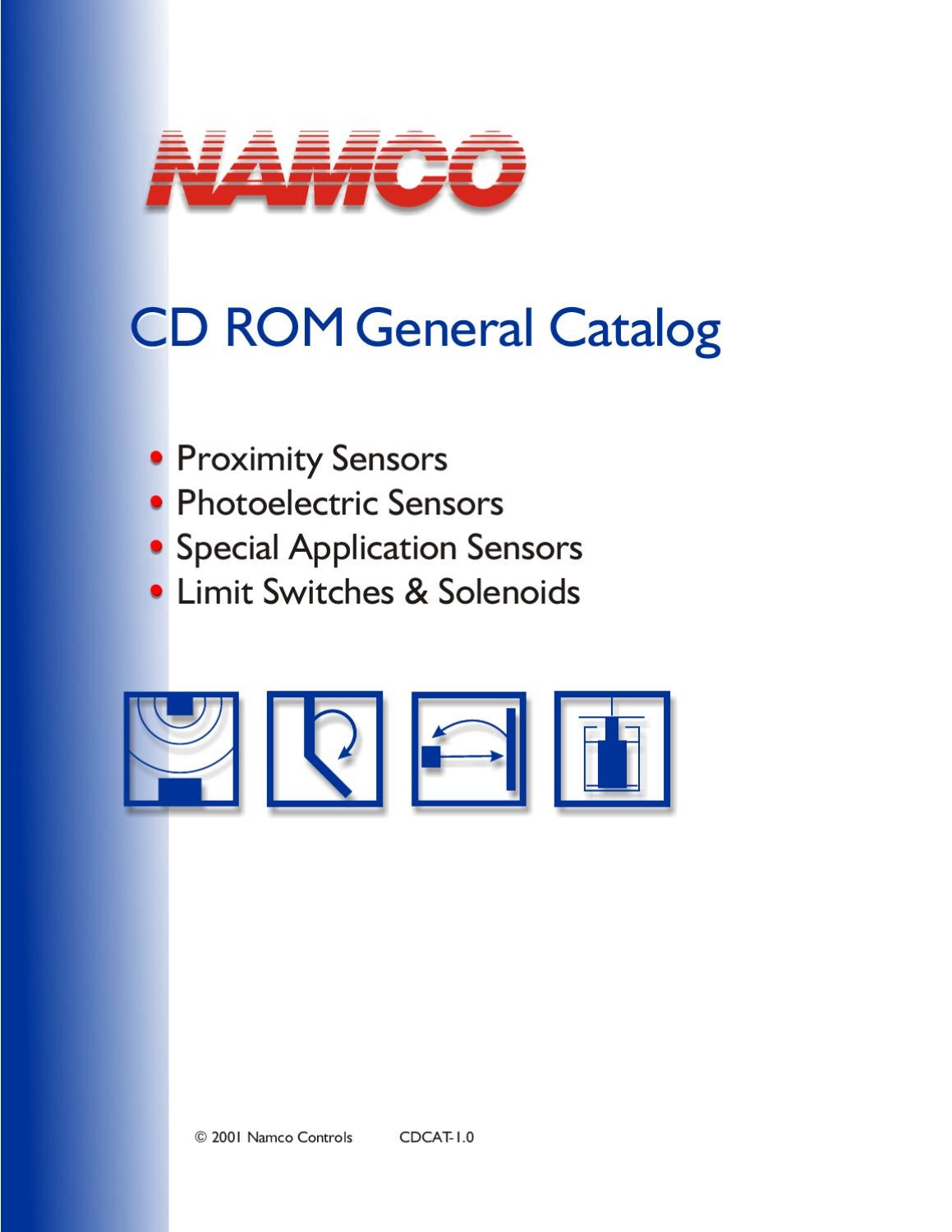 Namco Catalog By Sensit Issuu Wiring Diagram As Well Npn And Pnp Transistor On Prox