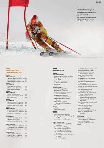 Talent Ausgabe 27 by Bündner Skiverband - issuu