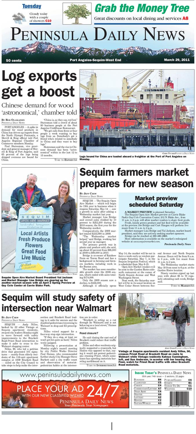 Pdn 03292011 C By Peninsula Daily News Sequim Gazette Issuu