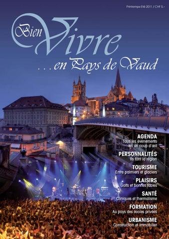 Editions Bien Vivire en pays de Vaud - printemps été 2011 by Bien ... 03c2f10572f