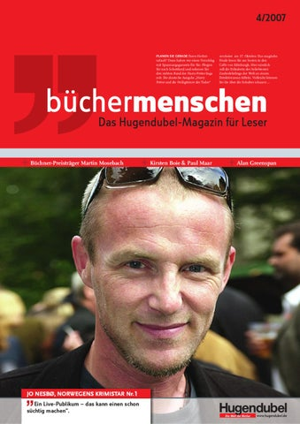 Büchermenschen_4/2007 By In Medias Res Marktkommunikation GmbH   Issuu