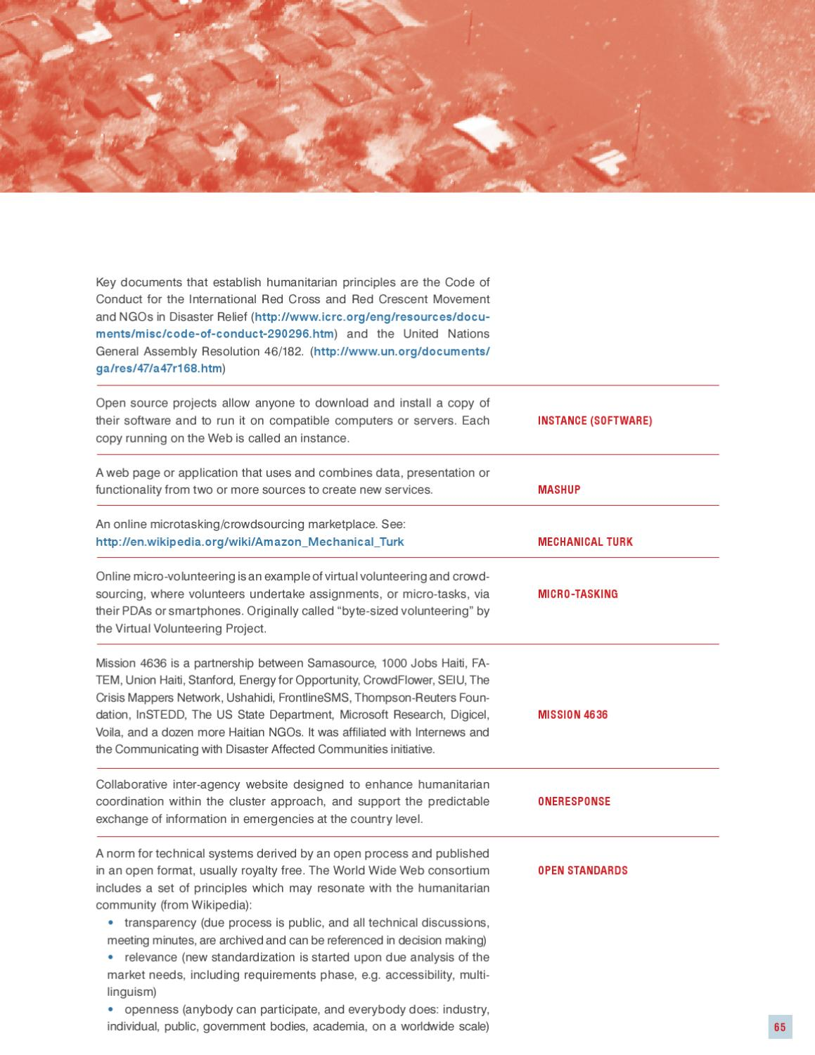 Disaster Relief 2 0 Report by United Nations Foundation - issuu