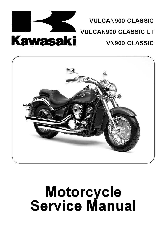 Clymer Kawasaki Vulcan 900 Classic 53036 2006-2013 Classic LT /& Custom