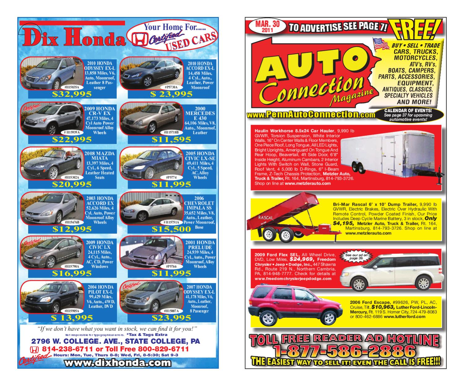 03-30-11 Auto Connection Magazine by Auto Connection