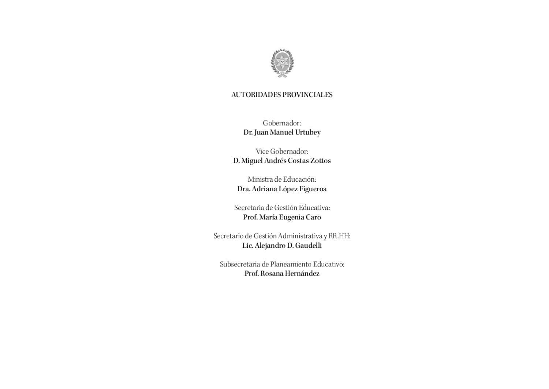 DISEÑO CURRICULAR PARA EL NIVEL DE EDUCACIÓN PRIMARIA DE SALTA by ...