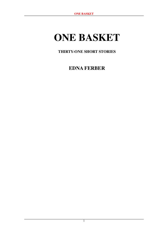 e08d269ce4 One Basket by Denny Ma - issuu