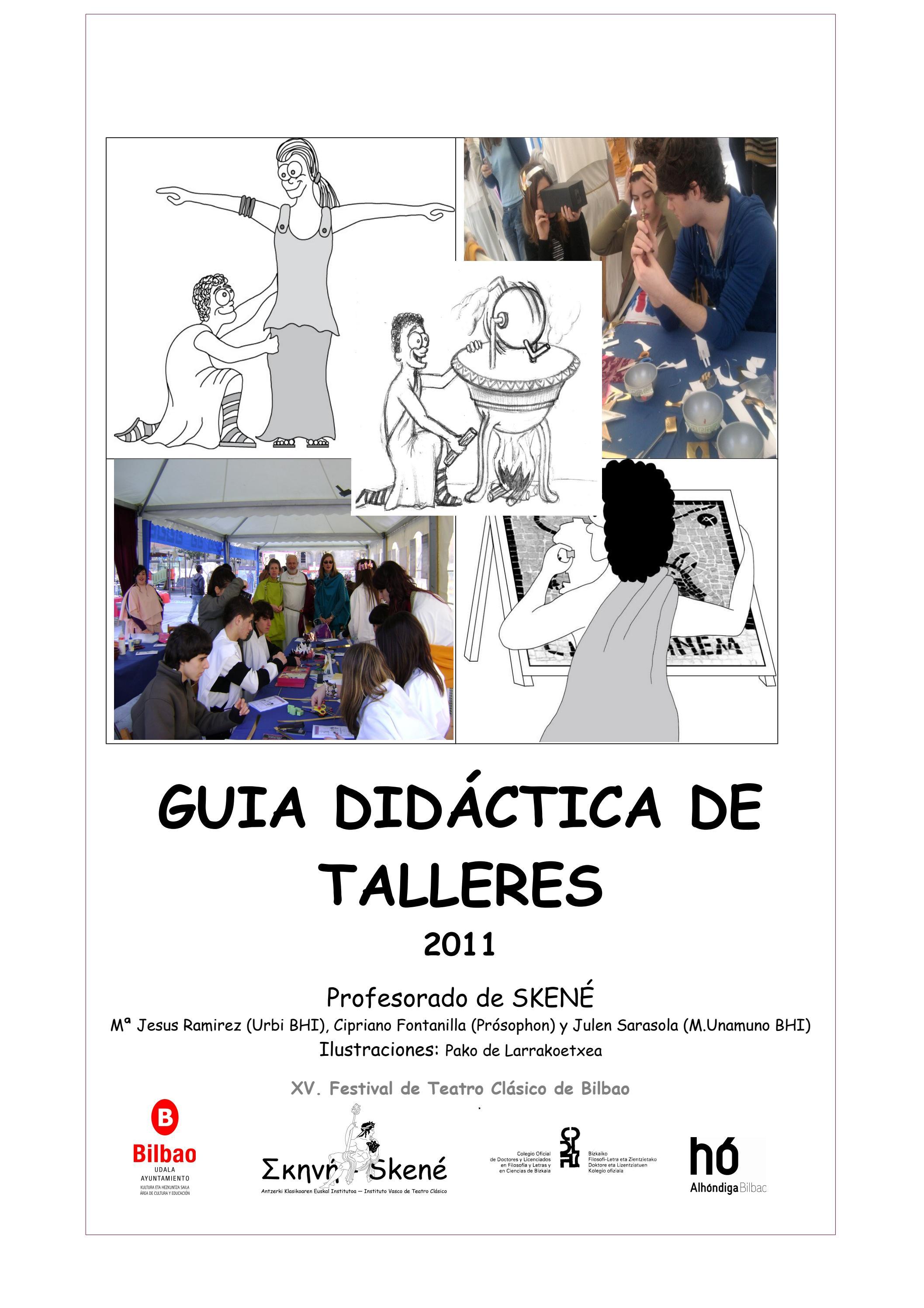 Talleres de Cultura Clásica by Mikel Agirregabiria - issuu