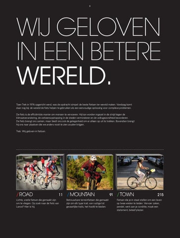 Trek 2011 Buyer\'s Guide Nederlands by Marlous Williamson - issuu