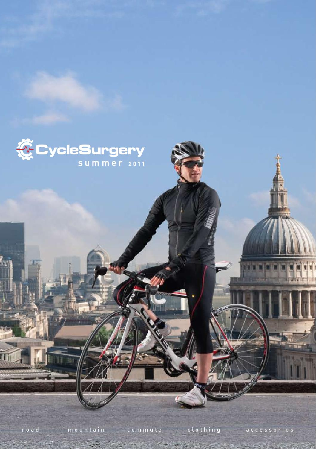 e0841ff85 Cycle Surgery Summer 2011 Catalogue by Cycle Surgery - issuu