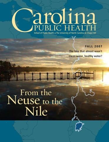 Carolina Public Health Fall 2007 Water By Unc Gillings School Of