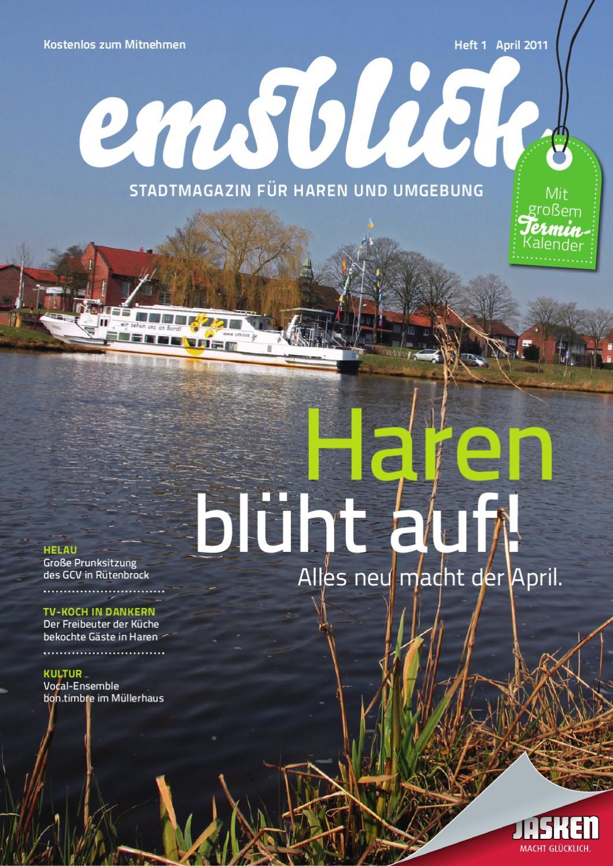 Emsblick heft 01 april 2011 by emsblick medien ug issuu - Fliesen jasken haren ...