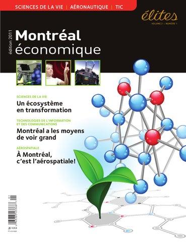 Magazine Élites - Édition Montréal économique vol. 2 no. 1 by JBC ... 94ad00c09c95
