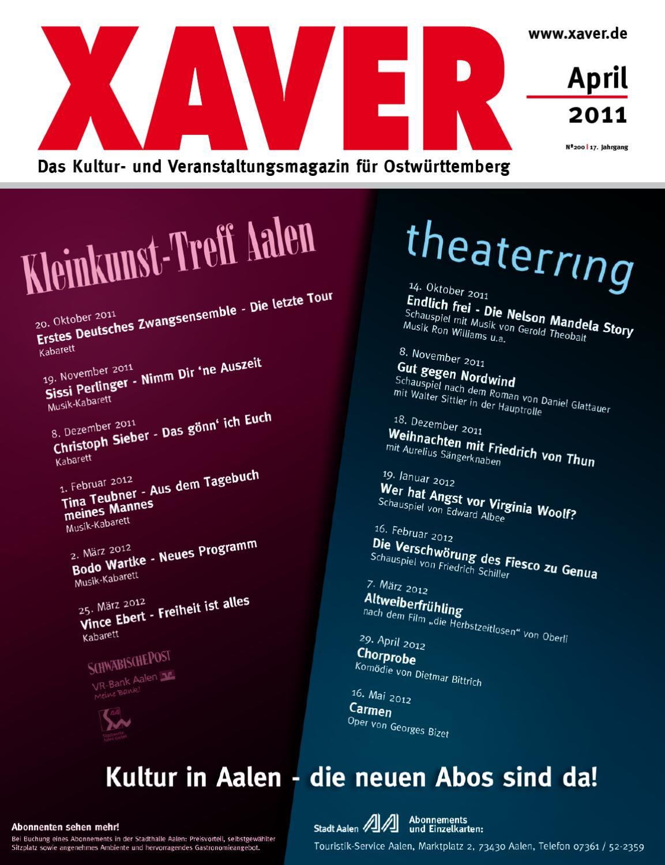 XAVER - April \'11 by Hariolf Erhardt - issuu