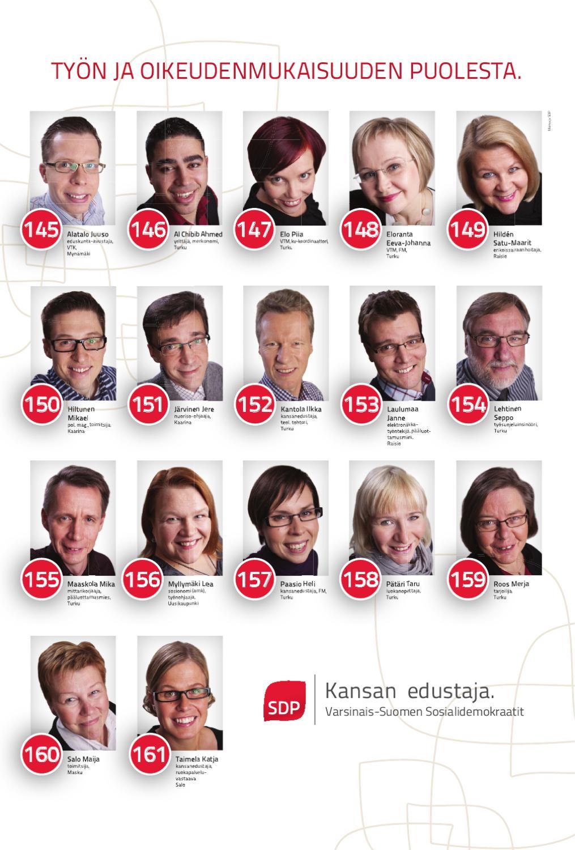 Sdp Ehdokkaat Varsinais-Suomi