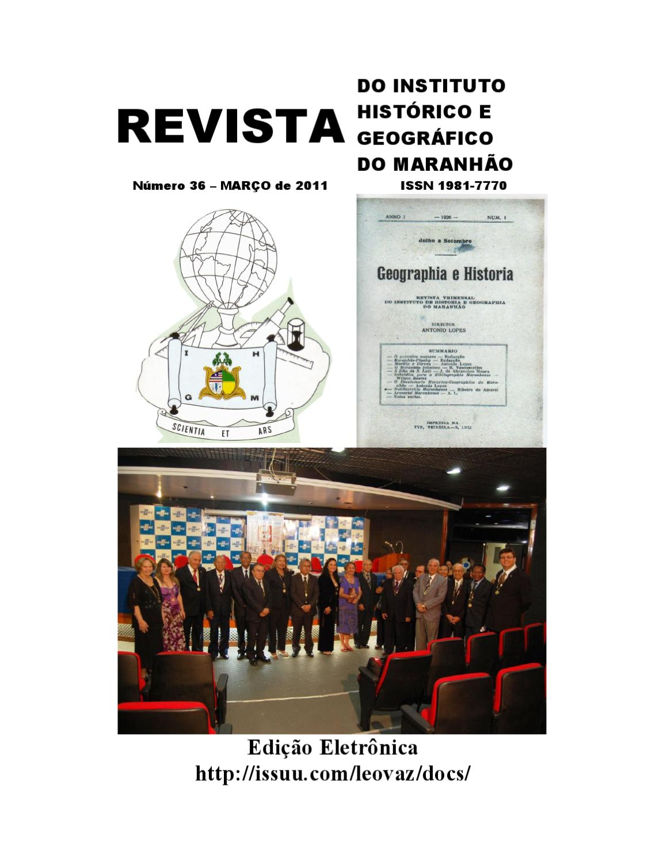 45d120980f REVISTA IHGM 2011 by Leopoldo Gil Dulcio Vaz - issuu