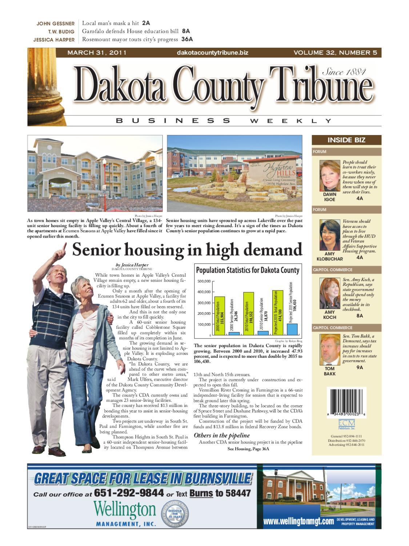 03-31-11 - dakota county tribune business weekly by dakota county