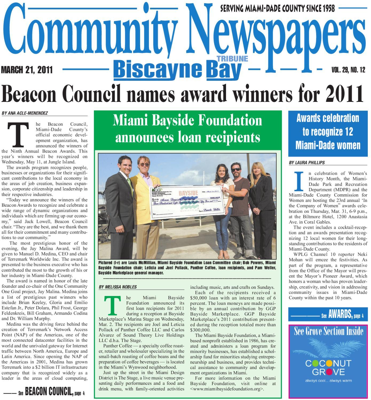 Biscayne Bay Tribune 3 21 2011 by munity Newspapers issuu