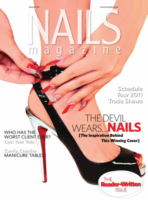 Nails Magazine January 2011 by Bobit Business Media