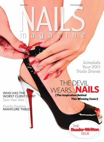 bc697f16346964 Nails Magazine January 2011 by Bobit Business Media - issuu