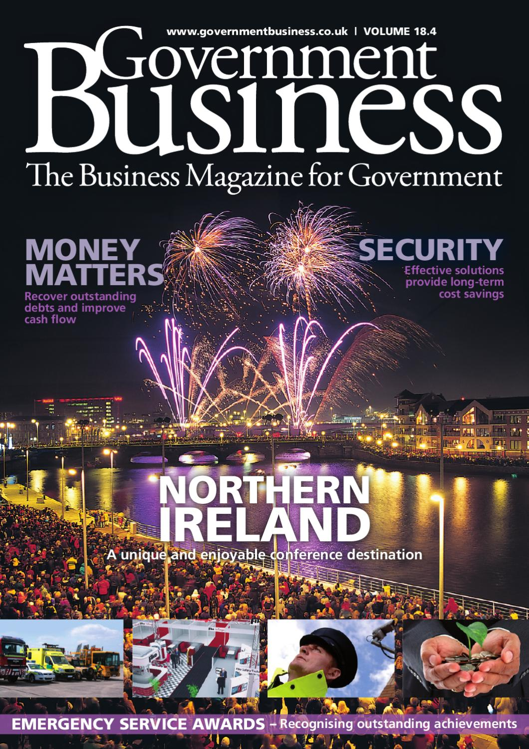 Government Business Magazine Issue 18 4 By Public Sector