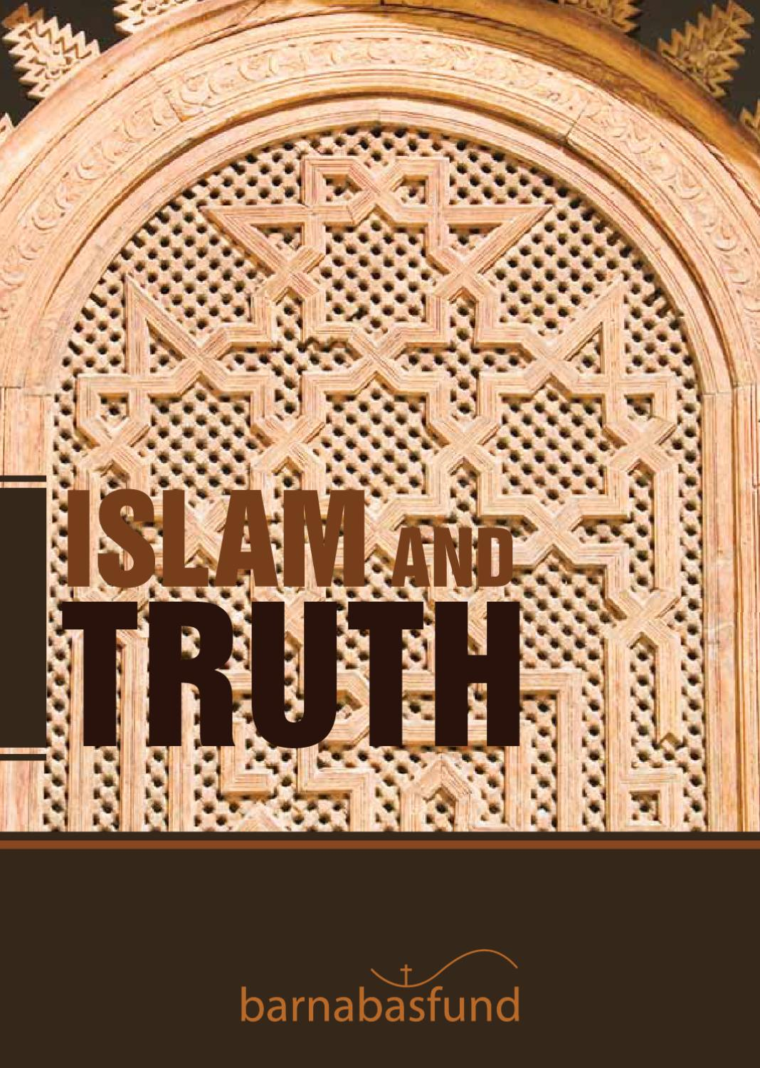islam and truth by barnabas fund issuu