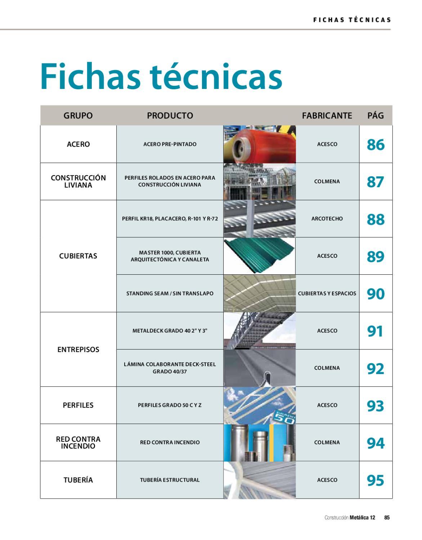 Revista construcci n met lica ed 12 by legis sa issuu for Tecnicas de representacion arquitectonica pdf