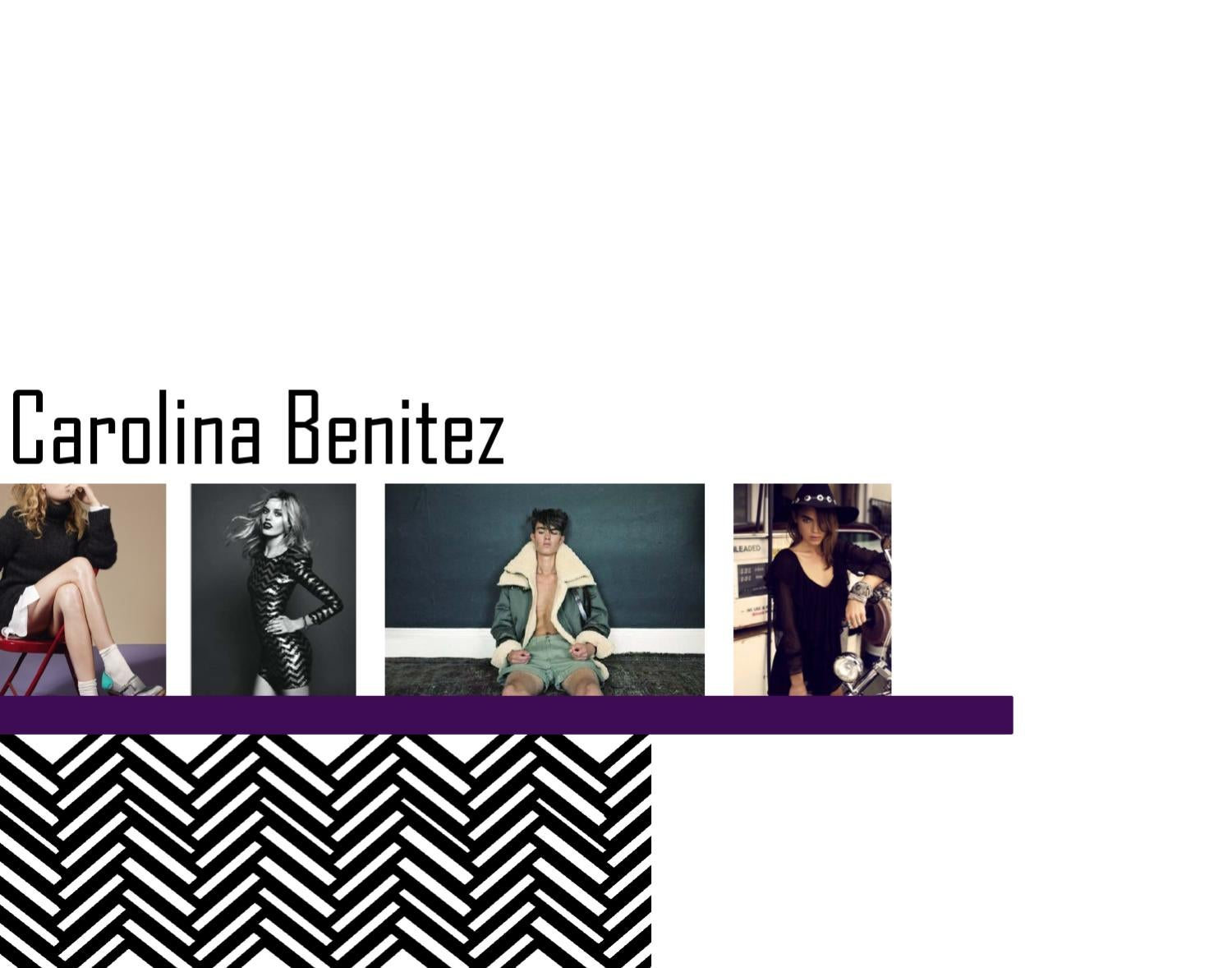 fashion merchandising portfolio by carolina benitez