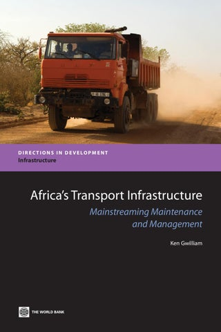 Africas transport infrastructure part 1 of 2 by world bank page 1 fandeluxe Images