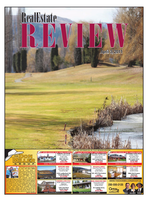 Vernon Real Estate Review By Black Press Digital