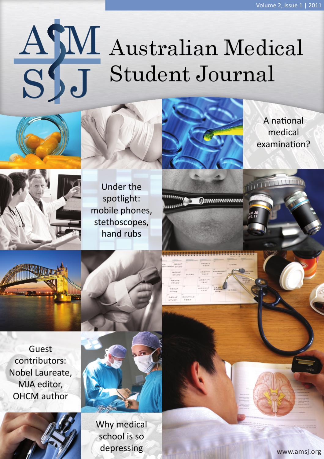Australian Medical Student Journal, Vol 2, Issue 1 by